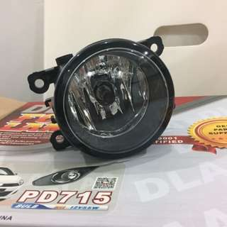 perodua axia 2016 fog lamp with Chrome