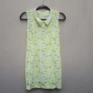 Neon Studded Dress