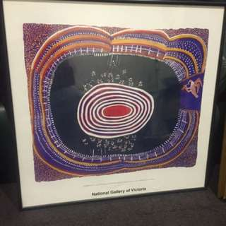 Aboriginal Painting- National Gallery Of Victoria