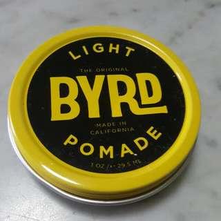 Byrd Light Pomade 1oz.