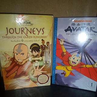 Avatarthe Last Air Bender Novel Book Earth (Free Volume 1 Comics)