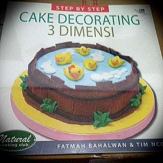 NCC   Cake Decorating 3 Dimensi   Fatmah Bahlawan