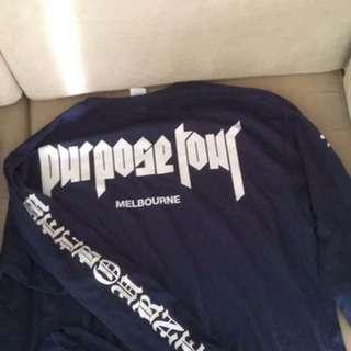 Official Justin Bieber Purpose Tour Merch