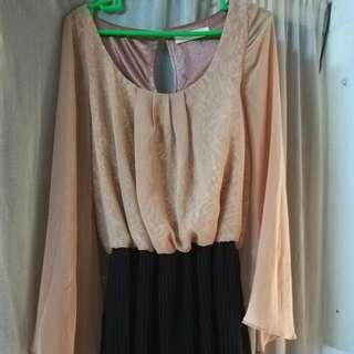 Cameron Racy Lace Dress (Skirt-shorts)