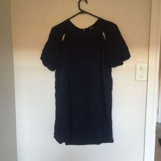 Bardot Shift Dress - Size 12