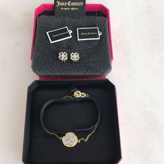 100% Authentic Juice Couture Bracelet Set For Let Go!