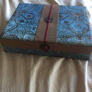 Jewelry Box Oriental Design