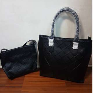2 in 1 Bag Synthetic Leather