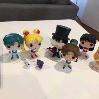 Sailor Moon Figure Toys 8pcs Set