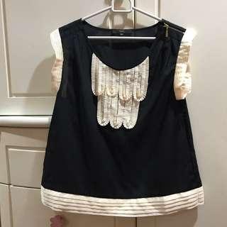 LIKE NEW Blouse Import Black