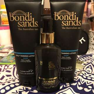BONDI SANDS TANNING LOTION/SPRAY