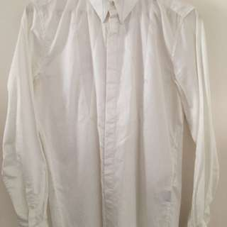 Saxony White Shirt With Detailing