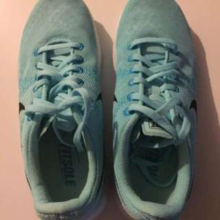 New Women's Nike Fitsole 2 Running Shoes; Blue; Size 6.5M US (23.5 cm)