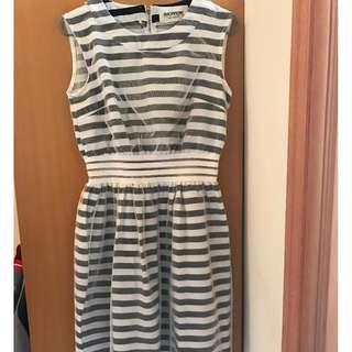 韓國黑白間連身裙 Original Price $599