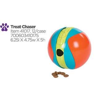 OUTWARD HOUND KYJEN 41017 TREAT CHASER FOOD DISPENSER, LARGE, MULTICOLOR