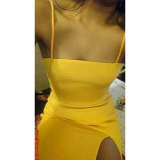 Orange Kookai Dress sz 38
