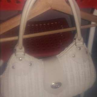 Rattan Handbag