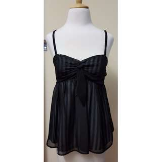Pilgrim Camisole with Striped Lining