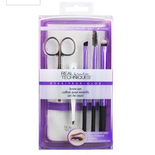 Real Techniques Eye Brow Brush Set