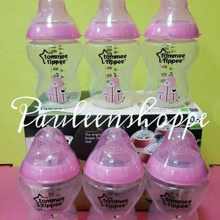 Tommee Tippee 9 Oz. Pink