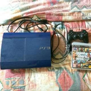 PS3 Super Slim (Blue)