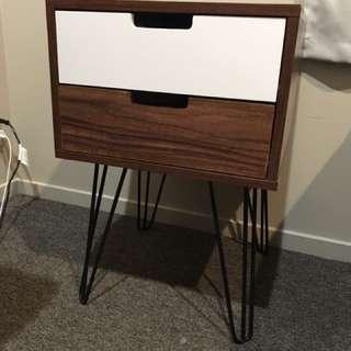 Bedside Cabinet 2 Draw