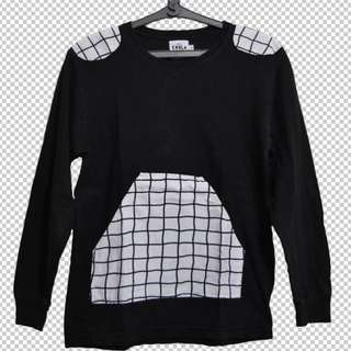 Grid Sweater