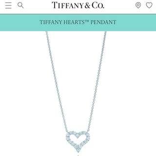 Tiffany Hearts Pendant