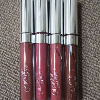 ColorPop Ultra Matte Liquid Lipsticks