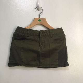 Army Colored Skirt