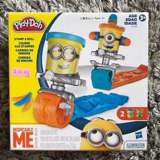 Play-Doh: Stamp & Roll Minion Set