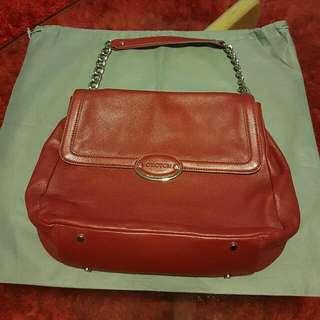 OROTON Tote Handbag, Red (Lirio)