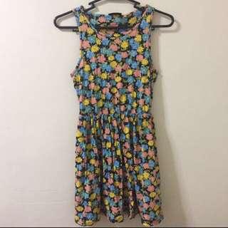 REPRICED! TOPSHOP   Floral Summer Dress