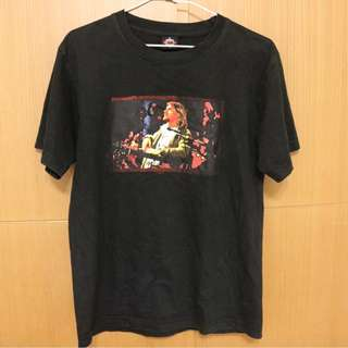 Kurt Cobain 樂團T恤 團T 黑色 S號 NIRVANA 主唱 克魯 LOGO