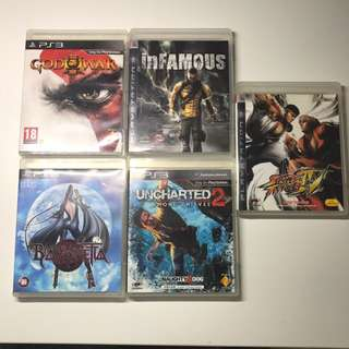 Ps3 Games Selling All For $60