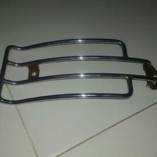 harley luggage rack