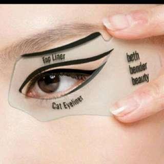 Eyeliner Stencil Pattern