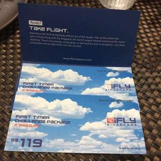 iFly Tickets - 37% Discount!!! Save $88!!!