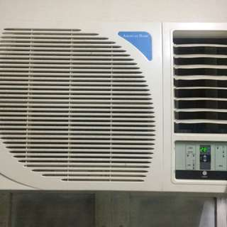 Aircon American Home Window type