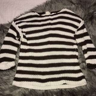White And Brown Knit 10