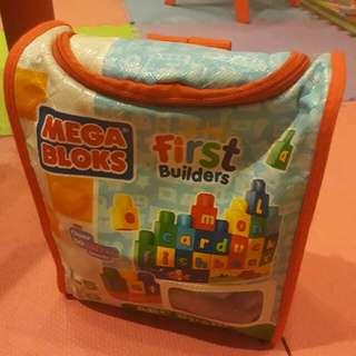 Mega Bloks First Builders ABC Spell 1-5yo