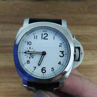 透底上鍊機械鋼錶
