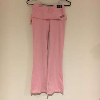 Pink Bell Flare Pants