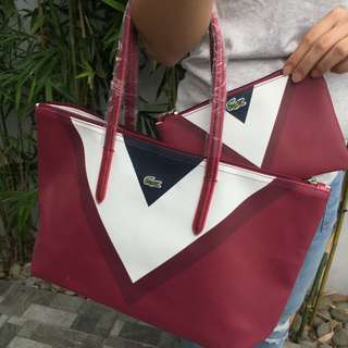60b4503534 lacoste bag tote | Luxury | Carousell Philippines