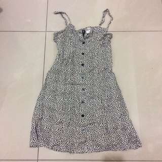 H&M碎花洋裝 #一百元上衣
