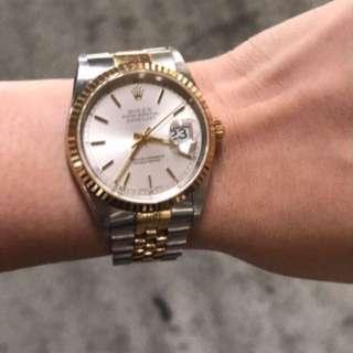 Rolex Datejust Men's 2-tone