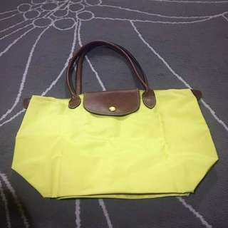 Longchamp Medium Yellow