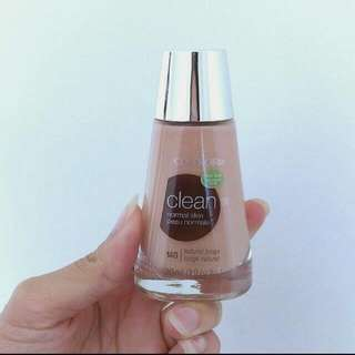 Covergirl Clean Normal Skin Foundation