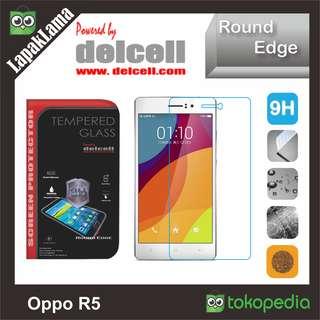 Tempered Glass Bening Delcell Oppo R5 Screen Guard Protector AntiGores
