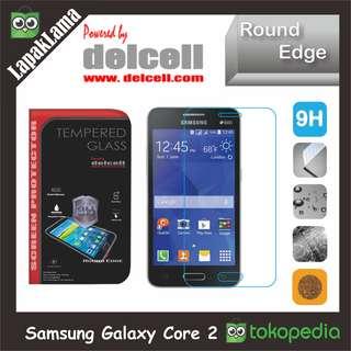 Tempered Glass Delcell Samsung Galaxy Core II  Core 2  Core Dual Sim